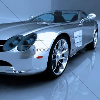 Sports Car - 3D