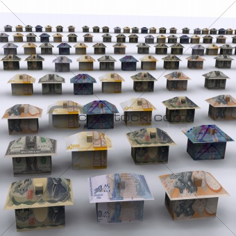 Money City - 3D Render