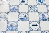 delft blue tiles