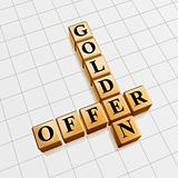 golden offer like crossword