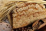 Traditional sesame bread