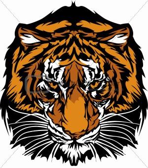 Tiger Head Graphic Mascot