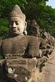 Entrance of Angkor Thom, Cambodia