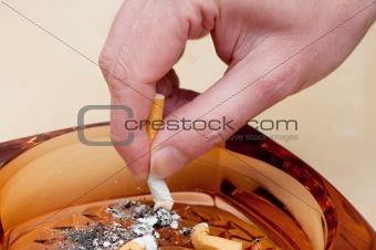 Cigarette Stubbing Out