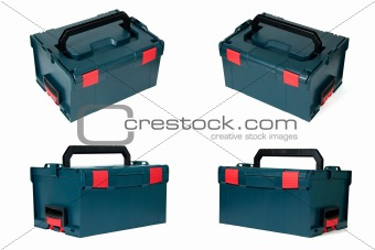 Tool box, isolated on a white background