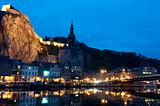 Night view on the Dinant