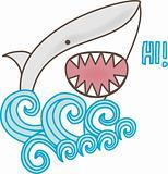 Shark Says Hi