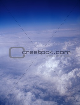 Atmosphere - sky and clouds.