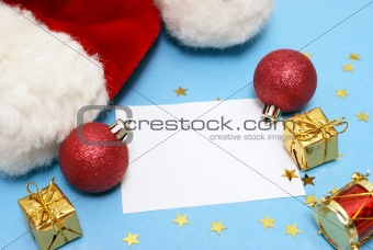 Blank Christmas Note