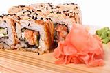 Sushi. Isolated