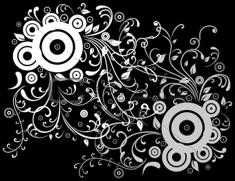 Abstract white and grey background