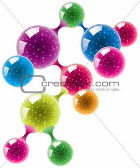 abstract molecule or microbe