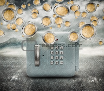 Rain of money