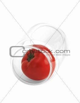 tomato on a jar