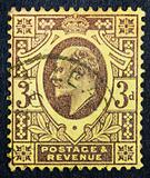 GREAT BRITAIN - CIRCA 1901: A stamp printed in Great Britain sho
