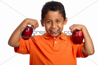 Apples Help You Grow Strong