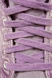 violet shoelaces
