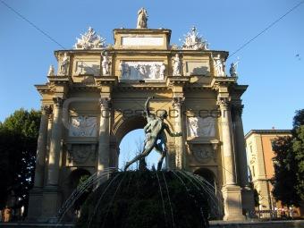 Arco di Trionfo in Piazza Libertà a Firenze