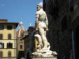 statue in piazza della Signoria