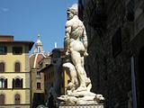 statue in piazza della Signoria
