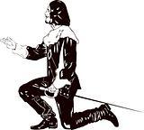 musketeer Salute