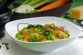 vegetable pasta