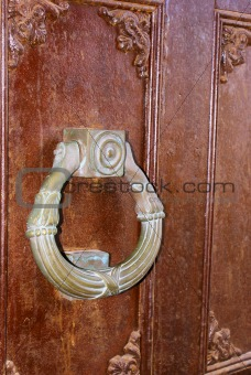Ancient doorknob