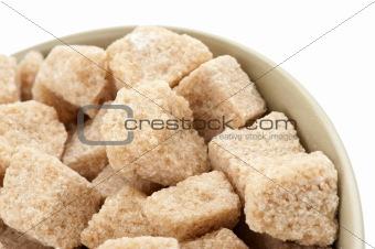 Cane sugar cubes