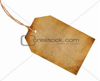 Blank old tag
