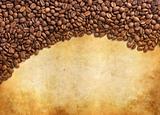 Coffee grunge background