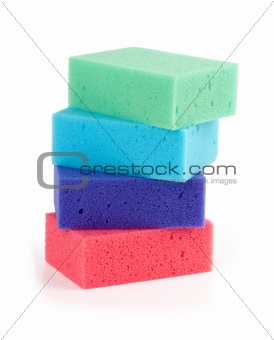 colorful sponge