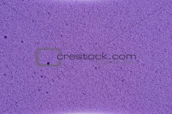 violet cleaning sponge texture