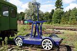 Railway hendcar
