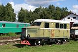 The railway car