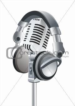 Microphone & DJ Headphones