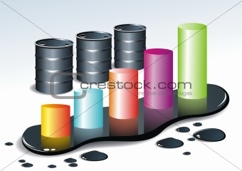 3d bio tub gas keg oil with diagram