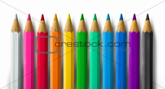 Color pencil spectrum