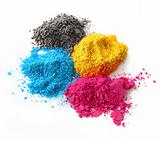 Color powder cmyk