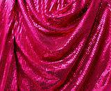 Folded disco glitter canvas