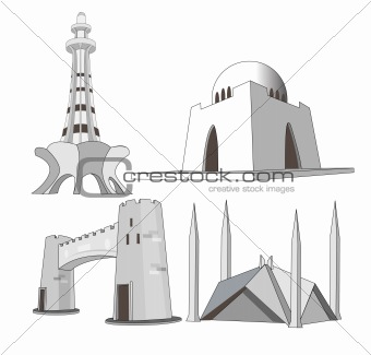 Famous landmarks of pakistan