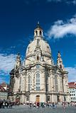 Frauenkirche cathedral at Dresden