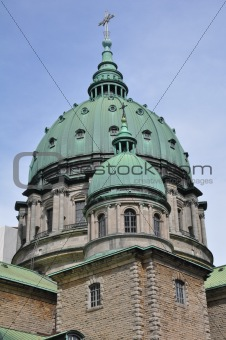 Cathedral in Montreal, Quebec