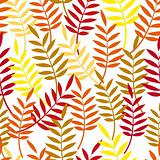 Autumn background. Leaves seamless.