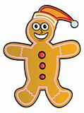 Cartoon Gingerbread Man