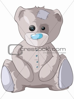 Cartoons_0002_Bear_Vector