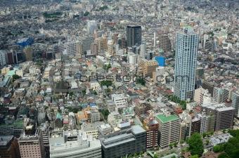 skyscrapers in tokyo