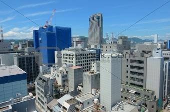 Cityscape of Hiroshima