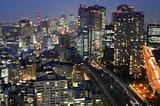 Buildings and Highways in Tokyo