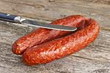 sausage Kabanos of Hungary