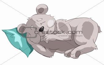 Cartoons_0003_Bear_Vector